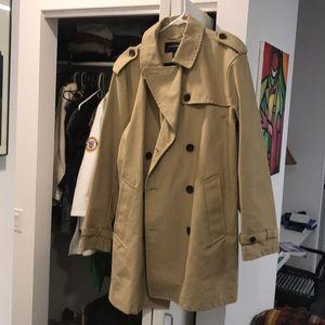 Banana Republic waterproof dress trench coat